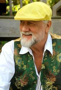 Artist Mick Fleetwood portrait