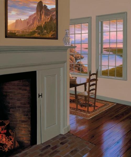 Artist Edward Gordon Limited Edition Giclee On Canvas