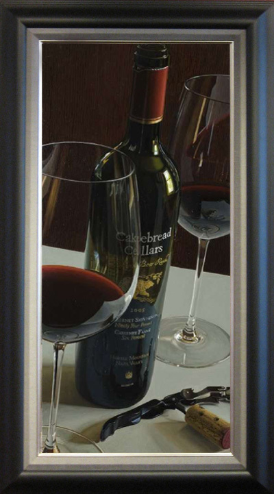 Wine Art Thomas Arvid Limited Edition Giclee on Canvas Bear Necessities (AP)