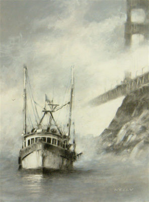 Fine Artwork On Sale John Kelly Limited Edition Giclee on Paper Coming Home
