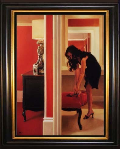 Fine Artwork On Sale Carrie Graber Limited Edition Giclee on Canvas Eleventh Hour