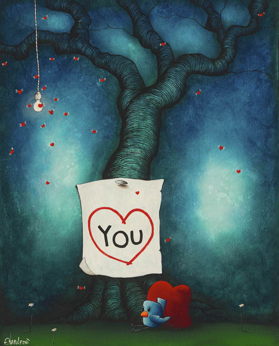 Fabio Napoleoni Fabio Napoleoni Limited Edition Giclee on Canvas Just Wanted You To Know (AP Canvas)