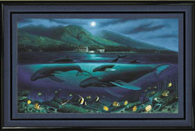 Wyland Wyland Limited Edition Lithograph Maui Moon