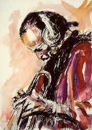 Ronnie Wood Ronnie Wood Limited Edition Print Miles Davis