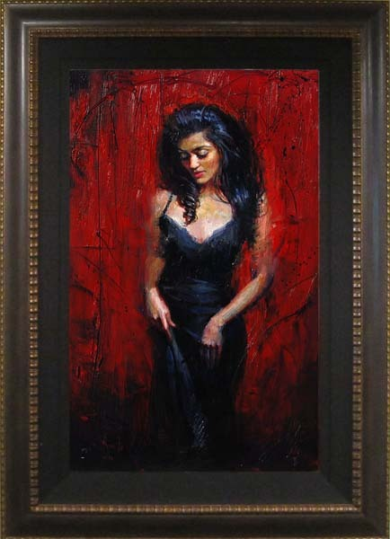 Henry Asencio Henry Asencio Original Painting Passion's Illumination