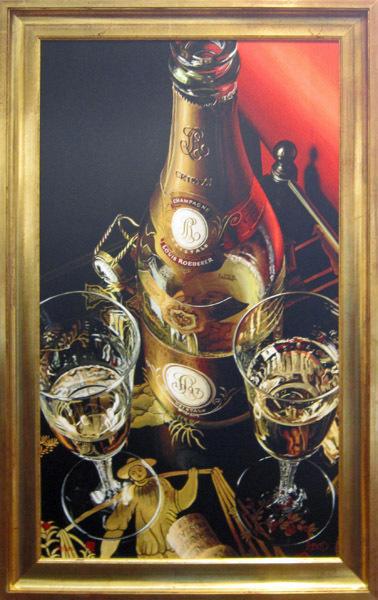 Artist Thomas Arvid Limited Edition Giclee On Canvas