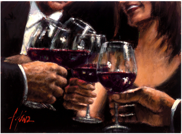 Fabian Perez Fabian Perez Limited Edition Giclee on Canvas Study for a Better Life V