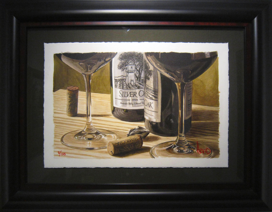 Thomas Arvid Wine Art