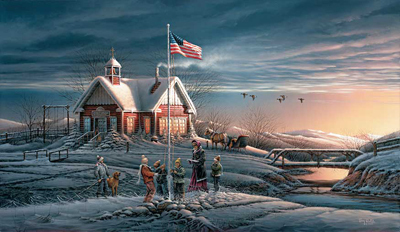Terry Redlin Terry Redlin Limited Edition Print on Paper America! America!