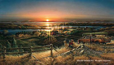 Terry Redlin Terry Redlin Limited Edition Giclee on Canvas Best Friends