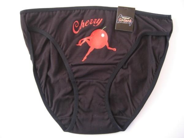 Godard Olive Art Michael Godard Clothing Bikini - Cherry Black