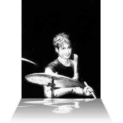 Ronnie Wood Ronnie Wood Limited Edition Print Charlie (Watts)