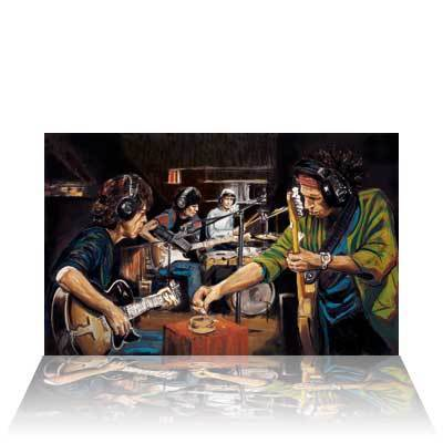 Ronnie Wood Ronnie Wood Limited Edition Print Conversation Piece (Canvas)