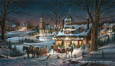 Terry Redlin Terry Redlin Limited Edition Print on Paper Evening Rehearsals AP