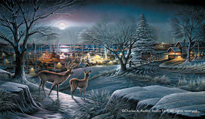 Terry Redlin Terry Redlin Limited Edition Print on Paper Hometown