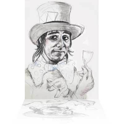 Ronnie Wood Ronnie Wood Limited Edition Print on Paper Keith Moon - The Mad Hatter