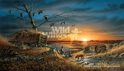 Terry Redlin Terry Redlin Limited Edition Print on Paper Lifetime Companions