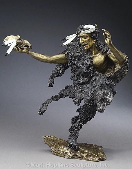 Artist Mark Hopkins Sculpture