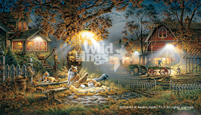 Terry Redlin Terry Redlin Limited Edition Print on Paper Our Friends