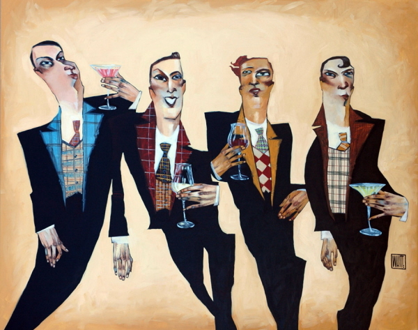 Artist Todd White Limited Edition Giclee On Canvas