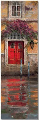 James Coleman James Coleman Limited Edition Giclee on Canvas Red Door Reflection