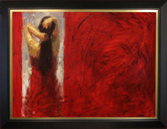 Henry Asencio Henry Asencio Limited Edition Giclee on Canvas Red Door