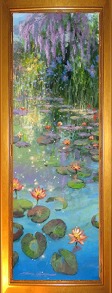 James Coleman James Coleman Limited Edition Giclee on Canvas Sapphire Pond (AP)