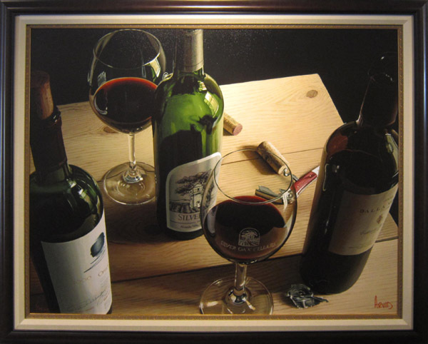 Wine Art Thomas Arvid Limited Edition Giclee on Canvas Side by Side (HC)