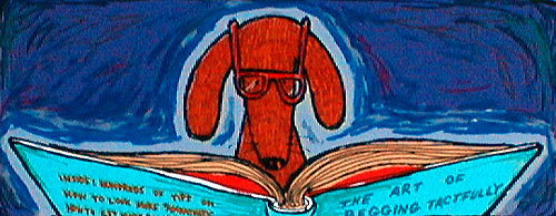 Matt Rinard Matt Rinard Limited Edition Serigraph Nearsighted Dachshund
