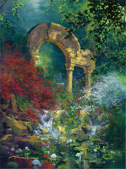 James Coleman James Coleman Limited Edition Giclee on Canvas Gateway to Eden