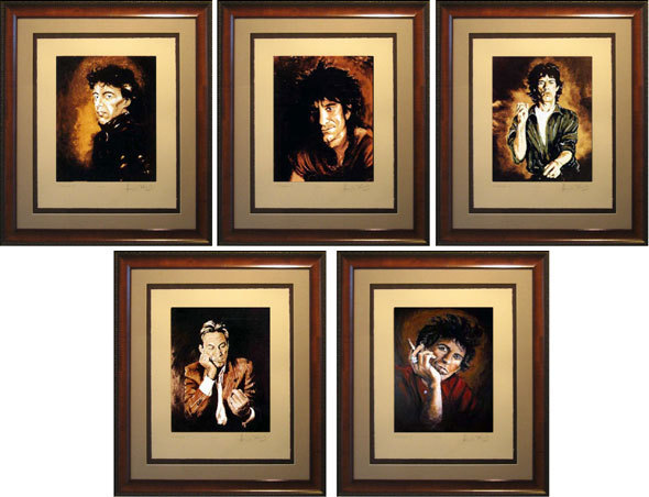 Ronnie Wood Ronnie Wood Limited Edition Print on Paper Rolling Stones Suite II