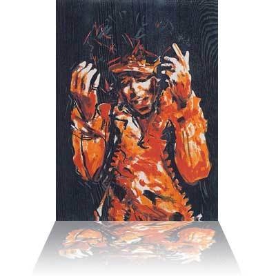 Ronnie Wood Ronnie Wood Limited Edition Print Jimi Hendrix - Range Folio Suite