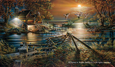 Terry Redlin Terry Redlin Limited Edition Print on Paper The Social Hour