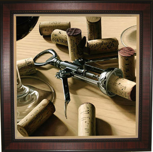 Wine Art Thomas Arvid Limited Edition Giclee on Canvas Unplugged (AP)