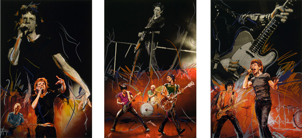 Ronnie Wood Ronnie Wood Limited Edition Print On Stage Suite - 3 Pieces