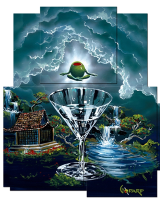 Michael Godard Godard Martini Art