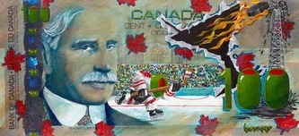 Michael Godard Art & Prints Michael Godard Art & Prints $100 Bill - Canadian (Mural)