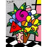 Romero Britto Art Romero Britto Art Flowers For You (SN)