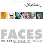 Fine Art Books Fine Art Books Faces: The Art of Sebastian Kruger Book