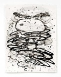 Tom Everhart Prints Tom Everhart Prints 2006 Psycho Cyclone (Original) (Framed)