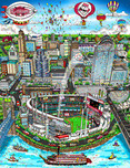 Charles Fazzino Art Charles Fazzino Art 2015 MLB All-Star Game: Cincinnati (DX)