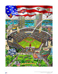 Charles Fazzino Art Charles Fazzino Art 2016 MLB All-Star Game: San Diego (DX)