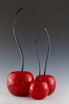 Donald Carlson Donald Carlson Red Cherries - Curved Stem