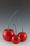 Donald Carlson Donald Carlson Red Cherries - Green Stem