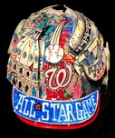 Charles Fazzino Art Charles Fazzino Art 2018 MLB 89th All-Star Game Baseball Helmet (Full Size)