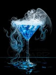 Godard Martini Art Godard Martini Art A Drink with the Angels (AP)