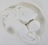 Gaylord Ho Gaylord Ho A Mother's Love (Parian Wall Relief)