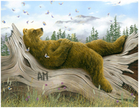 Robert Bissell Art Robert Bissell Art AM 2 (Collectors Edition) (Framed)