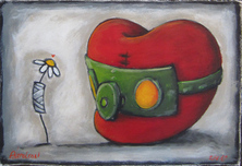 Fabio Napoleoni Fabio Napoleoni Better Days Ahead (AP) Framed