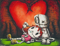Fabio Napoleoni Fabio Napoleoni Addicted to Your Love (#1)  SN - Framed